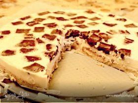 Чизкейк с шоколадным печеньем