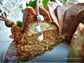 Пасхальный кекс со сливочной начинкой