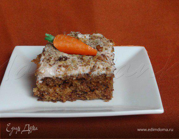 Морковный торт от МарциПанки