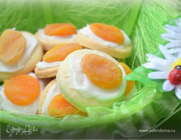Милое пасхальное печенье