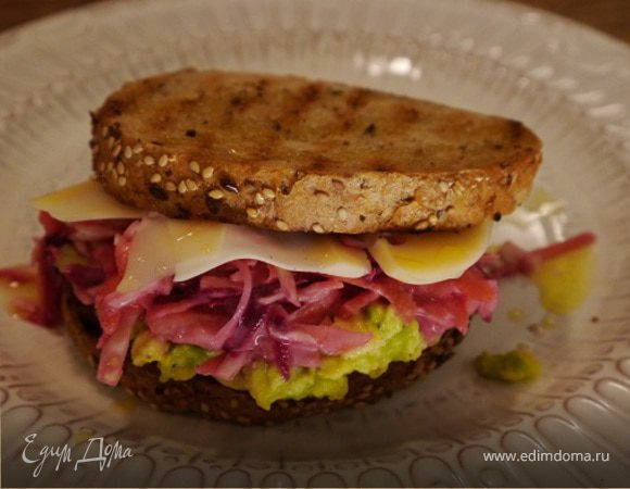 Бутерброд для вегетарианцев
