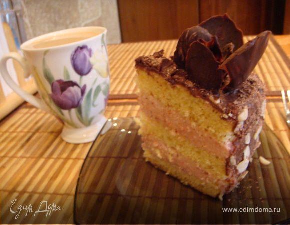 """Торт """"Шоколадные тюльпаны"""""""