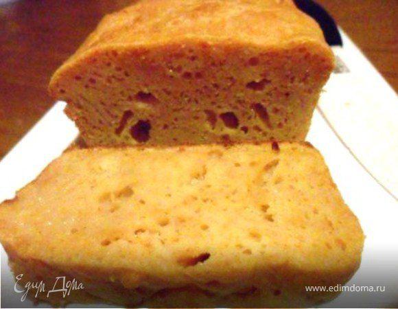 Кукурузный кекс с сыром и паприкой