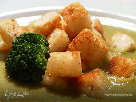 Нежнейший крем-суп из брокколи