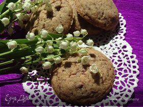 Песочное печенье с шоколадом на крахмале