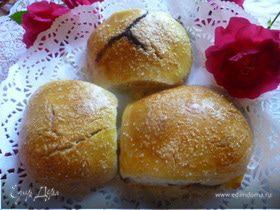 Сладкие булочки на закваске