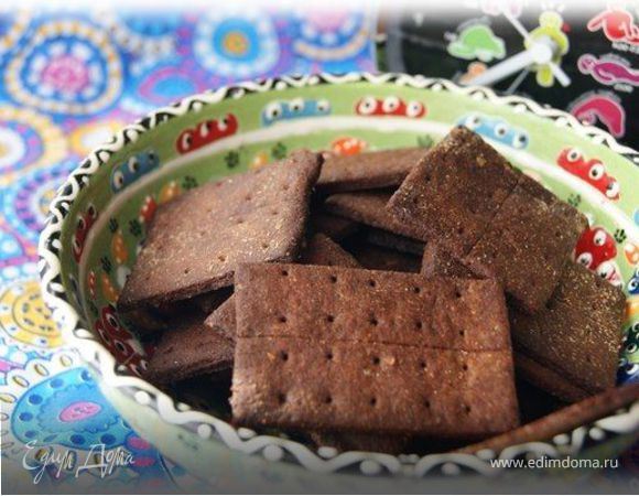 "Печенье ""Крекер Грэхэма Шоколадный"" (Graham crackers)"