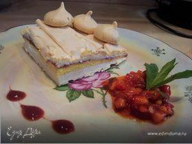 Меренговый торт с кремом маскарпоне