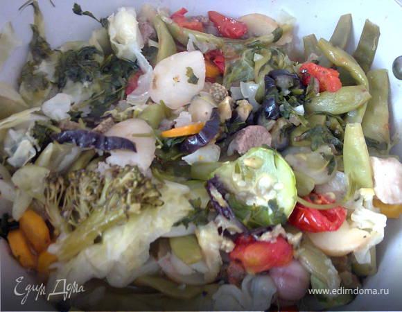 """Тушеные овощи с мясом """"Димляма"""""""