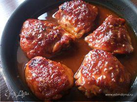 Куриные бедрышки по-тайски