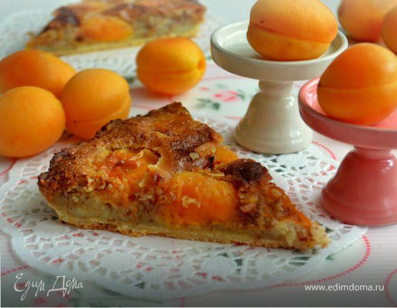Тарт с абрикосовым фражипаном (для Хильды)