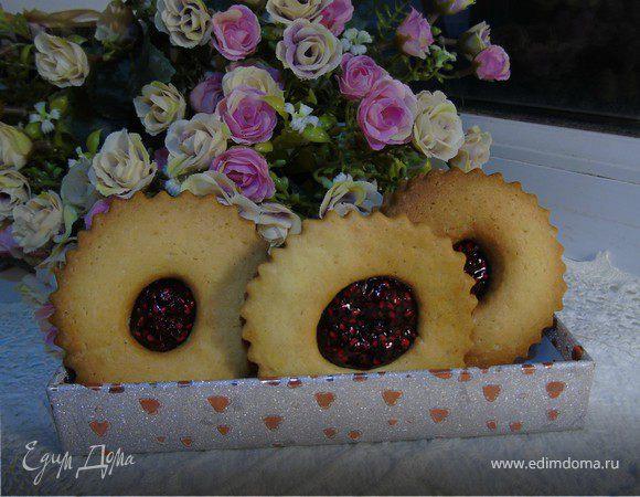 Мини-сэндвичи с малиновым конфитюром