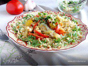 Рыбное рагу с киноа по-мароккански
