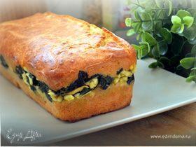 Мой любимый пирог с луком и яйцами (заливной)