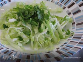 Летний салат из капусты