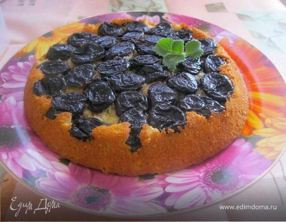 Пирог-перевертыш с черносливом
