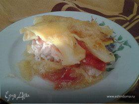 Кабачково-картофельная запеканка