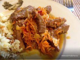 Стир-фрай из говядины по-китайски
