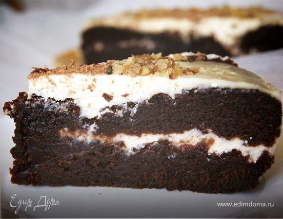 Кофейно-шоколадный пирог