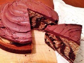 """Зебра"", покрытая шоколадом"