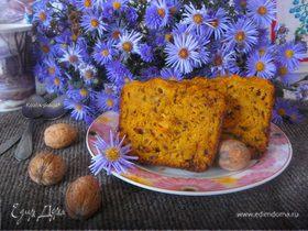 Пряный морковный кекс