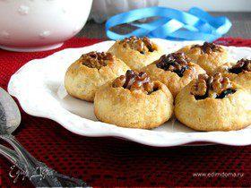 Печенье с черносливом и грецким орехом