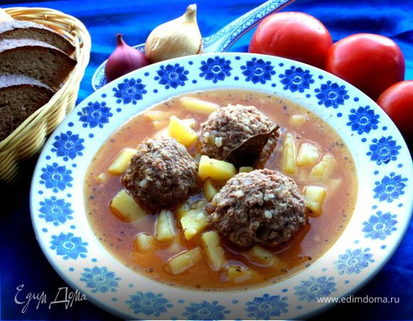 Армянский суп Кололак