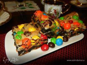 """Печенье """"Вкусняшка"""" (Loaded M&M Oreo Cookies Bars)"""