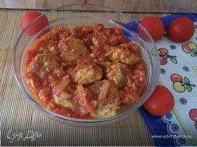 Итальянские тефтельки в томатном соусе