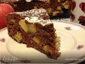 """Шоколадный пирог с яблоками """"Баба Яга"""""""