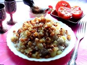 Каша с картошкой по-латышски