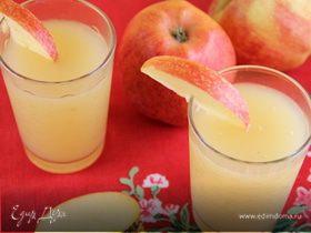 Яблочный кисель с белым вином