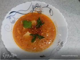 Рыбный супчик из семги
