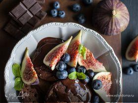 Оладушки с шоколадом