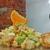 Салат с крабовым мясом и авокадо