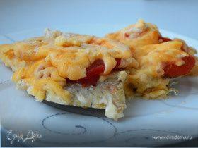 Рыба под сырно-томатной корочкой
