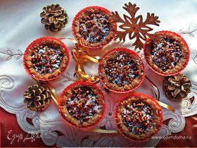 Гречневые корзиночки полные шоколада