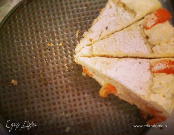 Мандариновый тортик