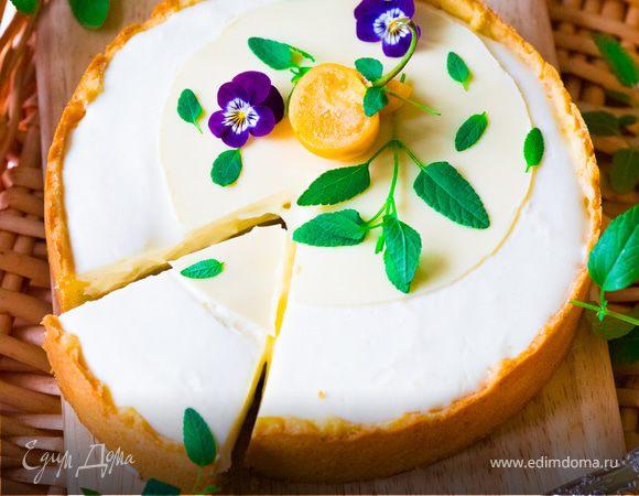 Яблочный тарт с воздушным кремом