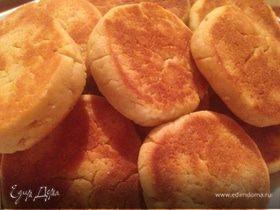 Быстрое печенье на сковороде