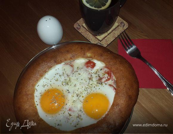 Завтрак в лепешке