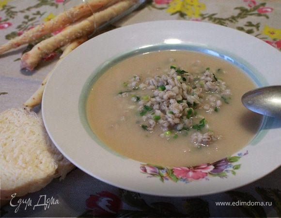 Суп-пюре с перловой крупой