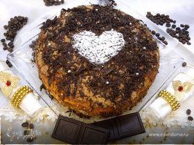 Торт медовик со сливочно-сметанным кремом