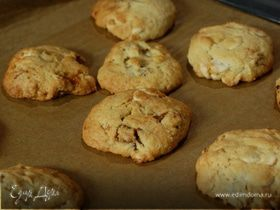 Печенье с инжиром и белым шоколадом