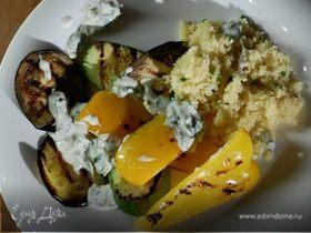 Овощи-гриль с кускусом