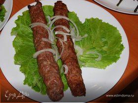 Люля-кебаб из баранины в тандыре