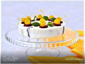 Блинный десерт с кремом из маскарпоне