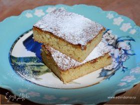 Пирожные с белым шоколадом