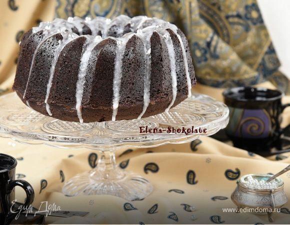 Шоколадный кекс на пиве