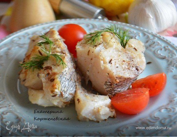 Рыба в лимонно-пряном маринаде
